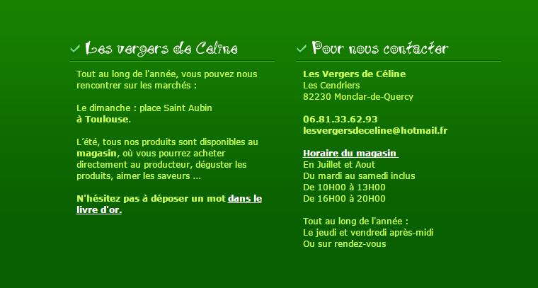 Les vergers de Céline - Monclar de Quercy - Tarn-et-Garonne